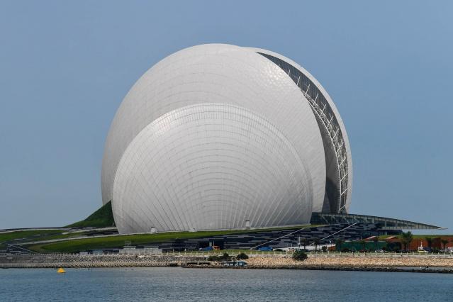 Dünyanın çeşitli bölgelerinde görenleri şaşırtan ilginç mimariye sahip binalar, bulundukları şehrin tanıtımına da katkı sağlıyor.