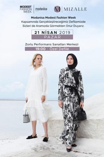 Moda dünyasında büyük heyecan yaratan Mizalle, Modanisa Modest Fashion Week'te en özel ürünlerini sergiledi.