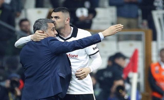 """Ümraniye'deki son maç toplantısında derbi stratejisini belirleyen Beşiktaş'ın teknik patronu, özellikle ilk yarının önemine dikkat çekti. Öğrencileriyle konuşan Güneş, """"Baskı kurarak maça başlayıp, onları şaşırtacağız. İlk golü bulmak çok önemli"""" dedi."""
