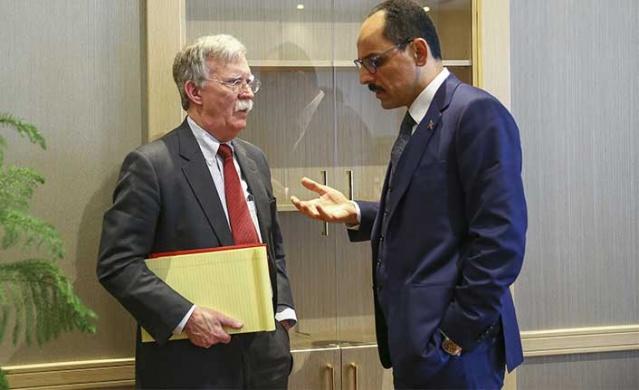 ABD Ulusal Güvenlik Konseyi Danışmanı John Bolton'un İsrail'de yaptığı açıklamalar Türkiye'nin büyük tepkisini çekmişti.