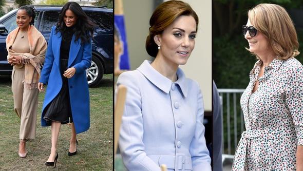 """Prens William ile evli olan Kate Middleton ve Prens Harry'nin eşi Meghan Markle arasında yükselen gerilim her ne kadar resmi kaynaklar """"Bu sadece düşesin farklı kişilik yapılarına sahip olmasından kaynaklanıyor"""" açıklaması yapsa da başka bir boyuta ulaştı. Şimdi de sahneye gelinlerin anneleri daha doğrusu iki anne arasındaki rekabet çıktı."""