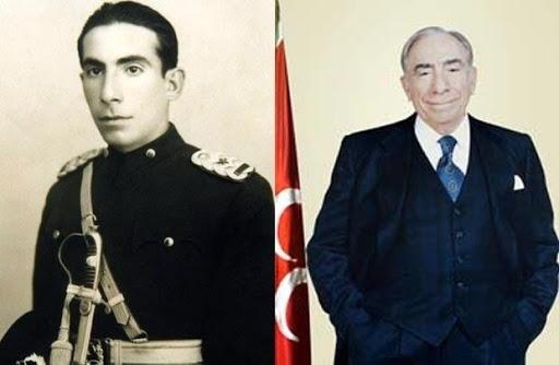 Alparslan Türkeş 1917'de Lefkoşa'da doğmuş, 1997'de Ankara'da vefat etmiştir. 1936'da Kuleli Askeri Lisesi'nden mezun olup 1938'de Harp Okulu'nu bitirmiştir. Milliyetçi çevreleri bir araya getirmek için 2 Mayıs 1963'te Türkiye Huzur ve Yükselme Derneği'ni kurmuştur. 31 Mart 1965'te, Cumhuriyetçi Köylü Millet Partisi'ne (CKMP) girerek siyasi hayata atılmıştır. İlk defa 1965 Türkiye genel seçimlerinde CKMP'nin Ankara milletvekili olarak meclise girmiştir. 12 Eylül Darbesi'nden sonra 1985 yılına kadar tutuklu kalmıştır. 1987 Türkiye anayasa değişikliği referandumunda siyasal yasağı kalkmıştır. Aynı yıl Milliyetçi Çalışma Partisi'ne girmiştir ve yapılan kongrede genel başkan seçilmiştir ve partisi 1991 Türkiye genel seçimlerinde Refah Partisi ve Islahatçı Demokrasi Partisi ile seçim ittifakı yapmıştır. 1992 yılında 12 Eylül darbesiyle kapatılmış olan partilerin eski adlarını alması hakkında Siyasi Partiler Kanunu'nda yapılan değişiklikle MÇP'nin ismi de 1993 yılında Milliyetçi Hareket Partisi (MHP)olarak değiştirilmiştir.