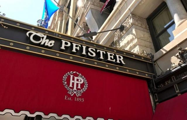 Pfister oteli 1893 yılında inşa edilmiştir ve William Mckinley ve ondan sonraki tüm ABD başkanlarını ağırlamıştır.