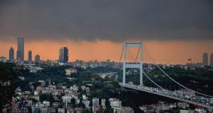 Yağmur öncesi İstanbul