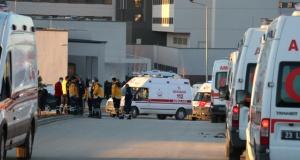 Helikopter kazasında şehit düşen 11 askerin naaşı Elazığ'da