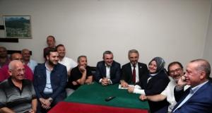 Erdoğan'ın sürpriz Kasımpaşa ziyareti