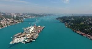Dünya ticaretine yön veren  önemli kanallar ve boğazlar