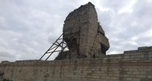 Tarihi surlarda çökme