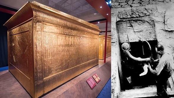 Mısır Firavunu Tutankamon'un lahitini açan kişilerin kısa sürede ölmesi lanet tartışması başlattı.