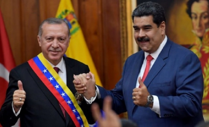 Maduro canlı yayında açıkladı: Türkiye halkı yanımızdadır
