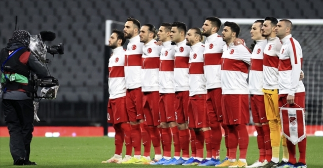 Milli takımın kamp kadrosu açıklandı