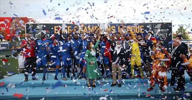 Şahinbey Belediyespor Avrupa Şampiyonu oldu