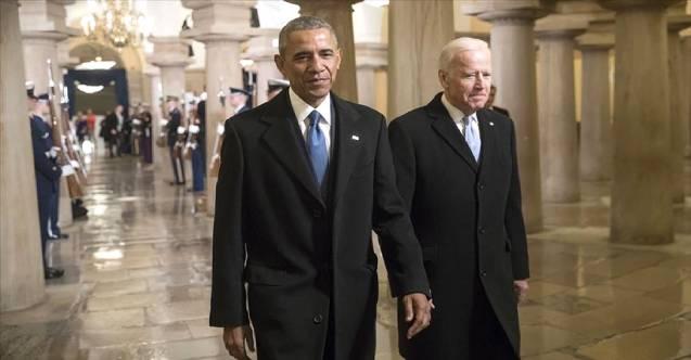 Obama: Biden, yarım kalan işleri tamamlıyor
