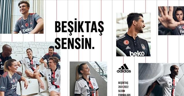 Beşiktaş'ta forma lansmanı yapıldı