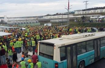 3. Havalimanındaki eylemlerde 24 kişi tutuklandı