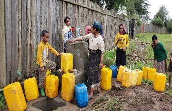 Baba oğuldan Etiyopya'ya 276 mescit, 325 su kuyusu