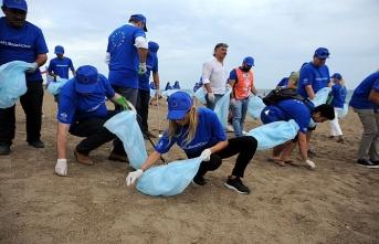 Plajlar çöp tenekesi değil