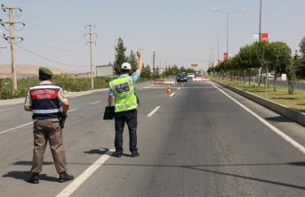 """Diyarbakır'da """"Trafik Denetimi 8"""" uygulaması yapıldı"""