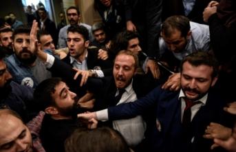 İstanbul Barosu seçimlerinde kavga çıktı