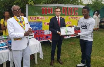TİKA'dan Etiyopya'ya destek