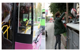 Yer Beşiktaş... Otobüstekiler neye uğradığı şaşırdı