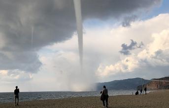 Antalya'da hortum dehşeti!
