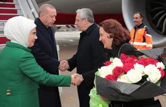 Başkan Erdoğan Paris'te