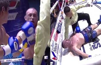 Boks maçında komaya girdi...