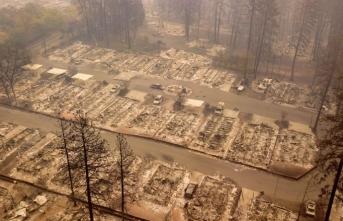 California'da son durum... 74 ölü, binden fazla kayıp var