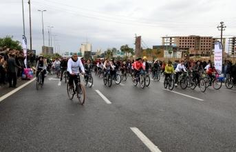 Erbil'de uluslararası bisiklet yarışı düzenlendi