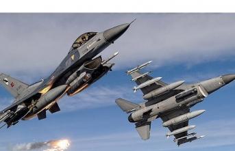 Irak'ın kuzeyine hava harekatı: 5 terörist öldürüldü