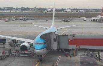 Yolcu uçağını İstanbul'a bir kral getirdi