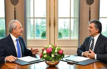 'Abdullah Gül ile CHP lideri Kılıçdaroğlu görüştü'