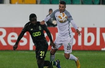 Akhisarspor Avrupa'daki son maçında puanla tanıştı