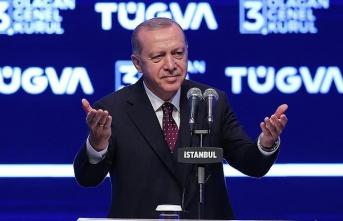 Başkan Erdoğan'dan TÜGVA'da  gençlere tavsiyeler