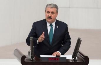 Destici: HDP'nin hazineden para alması...