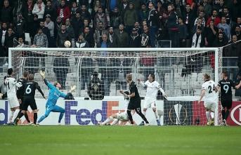 Beşiktaş Malmö'ye yenildi Avrupa'ya veda etti