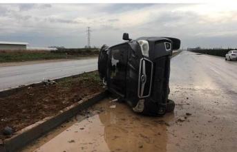 CHP Belediye Başkanı trafik kazası geçirdi