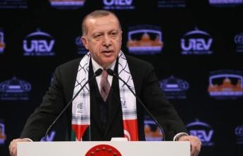 Cumhurbaşkan Erdoğan'dan İsrail'e net mesaj! 'Silemeyeceksiniz'