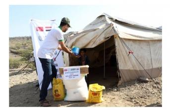İHH'dan Yemen'de 2 bin 600 aileye yardım