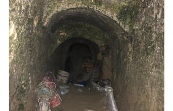 Tünelde yakalandılar! 150 metre...
