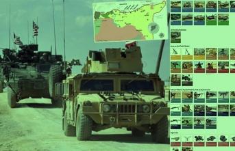 İşte ABD'nin Suriye'deki askeri varlığı! PKK'nın elinde hangi silahlar var?