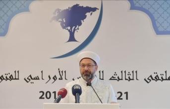 'Kur'an ve Sünnet'in doğru anlaşılıp yorumlanması gerekiyor'