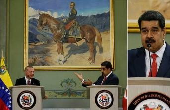 Maduro'dan basın toplantısında 'Diriliş Ertuğrul'lu mesaj