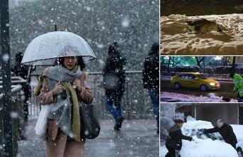 Meteorolojiden iki uyarı birden... Kar yağışı sürecek mi?