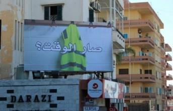 Sarı yelekliler Lübnan sokaklarında