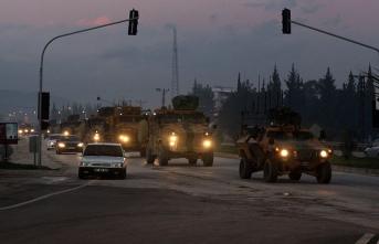 Suriye sınırına asker sevkiyatı sürüyor