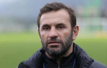 'Trabzonspor maçıyla ilk yarıyı, kazanarak bitirmek istiyoruz'