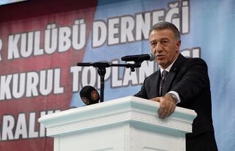 Ahmet Ağaoğlu yeniden başkan: Söz veriyoruz