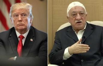 """""""Trump 'Gülen'i sınır dışı etmek için çalışıyoruz' dedi"""""""